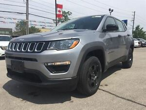 2017 Jeep Compass BRAND NEW, SPORT, 4X4, BLUETOOTH