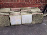 Used garden slabs good condition