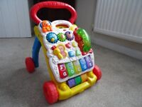 Vtech-First Steps Baby Walker- little used & lovely condition