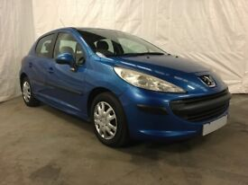 2007 Peugeot 207 1.4 S 5dr **Full Years MOT** Cheap Cars Glasgow