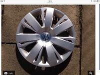 "Volkswagen Wheel trims, as new condition , 16"" genuine VW factory trims fit Golf /Jetta"
