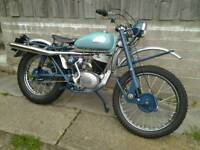 Greeves scottish trials motorcycle