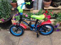 "Boys 12 "" wheels bike"
