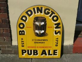 Boddingtons Beer / Ale sign