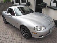 Mazda MX5 1.8 Euphonic Edition 2004 – Metallic Silver – Full Service History – Low Mileage