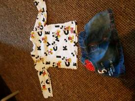 Baby girls clothes.3-6months