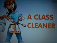 A CLASS CLEANER