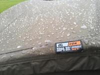 Fox supa Mk2 brolly is new with a used otherwrap