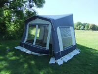 Awning for caravan or motorhome. Eurovent Coachman. Very good condition.