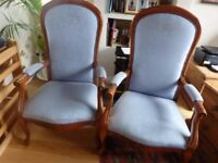 Pair of Chairs from France