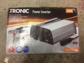 Tronic 12V -220/240V 300W power inverter - never used.