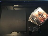 PlayStation 3 with Wireless Controller + 6 Games (PS3 320GB)
