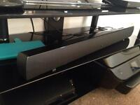 Logik 110W sound bar with built in sub woofer