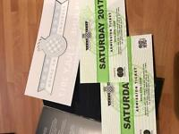 2 goodwood festival of speed tickets Saturday sold out