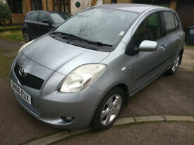 Toyota Yaris T Spirit, 1 previous owner, 85k miles, £30 Road Tax, Keyless entry, £2450