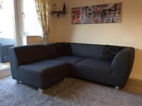 Contemporary Sofa with Armchair