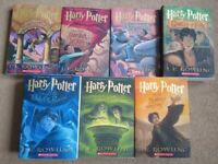 Complete Harry Potter 7 Books Collection set in excellent condition only £20