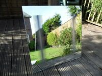 Rear light 600mm x 600mm bathroom mirror