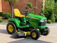 """John Deere X740 Ride on mower - 54"""" deck - lawnmower - Diesel -"""