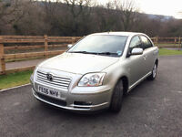 REDUCED PRICE Toyota Avensis 2.2 D-4D T3-X 5dr - 1 full year MOT - Great Condition - Great Price