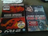 Mission Impossible DVD Collection for sale.