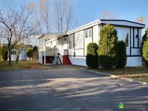 105 000$ - Maison mobile à vendre à La Baie
