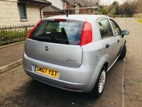 fiat punto 1.2 active 2007 mot 11 months excellent example low tax & insurance groupIDEAL 1ST CAR