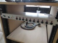 1u rack mount power supply 10 output working