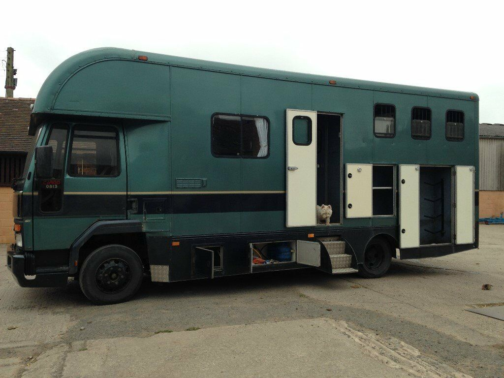Ford Cargo 0813 5 Speed 1989 Full Living 2 3 Horse Loads Of