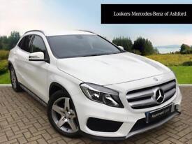 Mercedes-Benz GLA Class GLA220 CDI 4MATIC AMG LINE (white) 2014-10-07