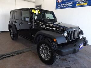 2016 Jeep WRANGLER UNLIMITED RUBICON 4X4 LEATHER NAV TARGA ROOF