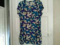 Size 12 new dress top
