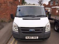 2007 (07) FORD TRANSIT 85 T260S FWD 5 SPD XENONS VERY GOOD DRIVE (MANUEL) ROOF RACK DRIVES EXCELLENT