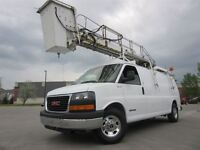 2006 GMC Savana 3500 ALLONGÉ ** NACELLE TTS25 **