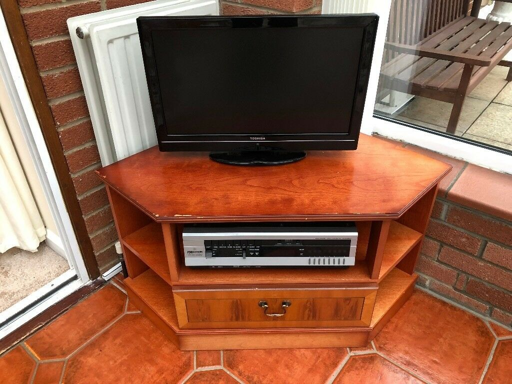 tv cabinet wooden with 1 drawers 37 inches wide x 18 inches deep in dereham norfolk gumtree. Black Bedroom Furniture Sets. Home Design Ideas
