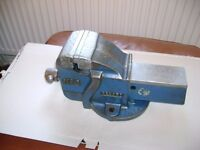"Record No. 3 Engineers Heavy Duty Working Bench Vice 4""-100mm made in England"