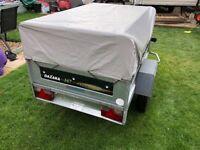 Daxara 147 car trailer (tipping)