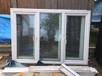 Window PVC including 24mm double glazing