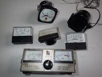 Box of Radio Meters Equipment SWR-25 SWR & Power Meter 3.5-150MHz see pics