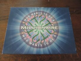Who Wants to be a Millionaire Board Game 2000