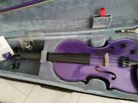 4/4 Electric Violin with bow + case for sale