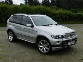VERY RARE BI-FUEL BMW X5 4.8i SPORT 4x4. GREAT CONDITION. LONG MOT. EQUIVALENT OF 42mpg. 360 bhp.