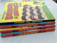 Vintage Beano Annuals & Special Editions