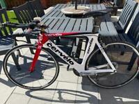 Cervelo pc2 full carbon tt road race bike size m 52