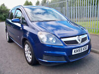 Vauxhall Zafira 1,6 Club 7 Seater MPV Zafira Club 1.6 2005 (55)