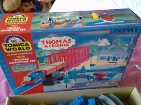 Thomas &friends Tomy road rail train set in box .Bargain price.