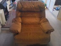 Very big and comfortable armchair, removable cover