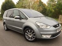 FORD GALAXY 1.8 TDCi GHIA 6G**7 SEATER**LEATHERS**XENONS**P/SENSORS**S/HISTORY**