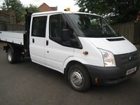 Ford Transit 350 DRW Tipper One Owner FSH MOT 33000 Miles AA cover