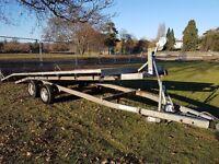 INDESPENSION CAR TRANSPORTER TRAILER TILT BED VAN 4X4 RECOVERY STOCK CAR BANGER TRUCK